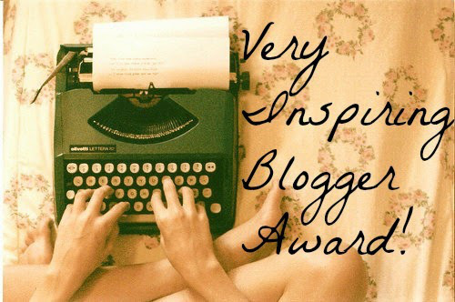 Very inspiring blog-award