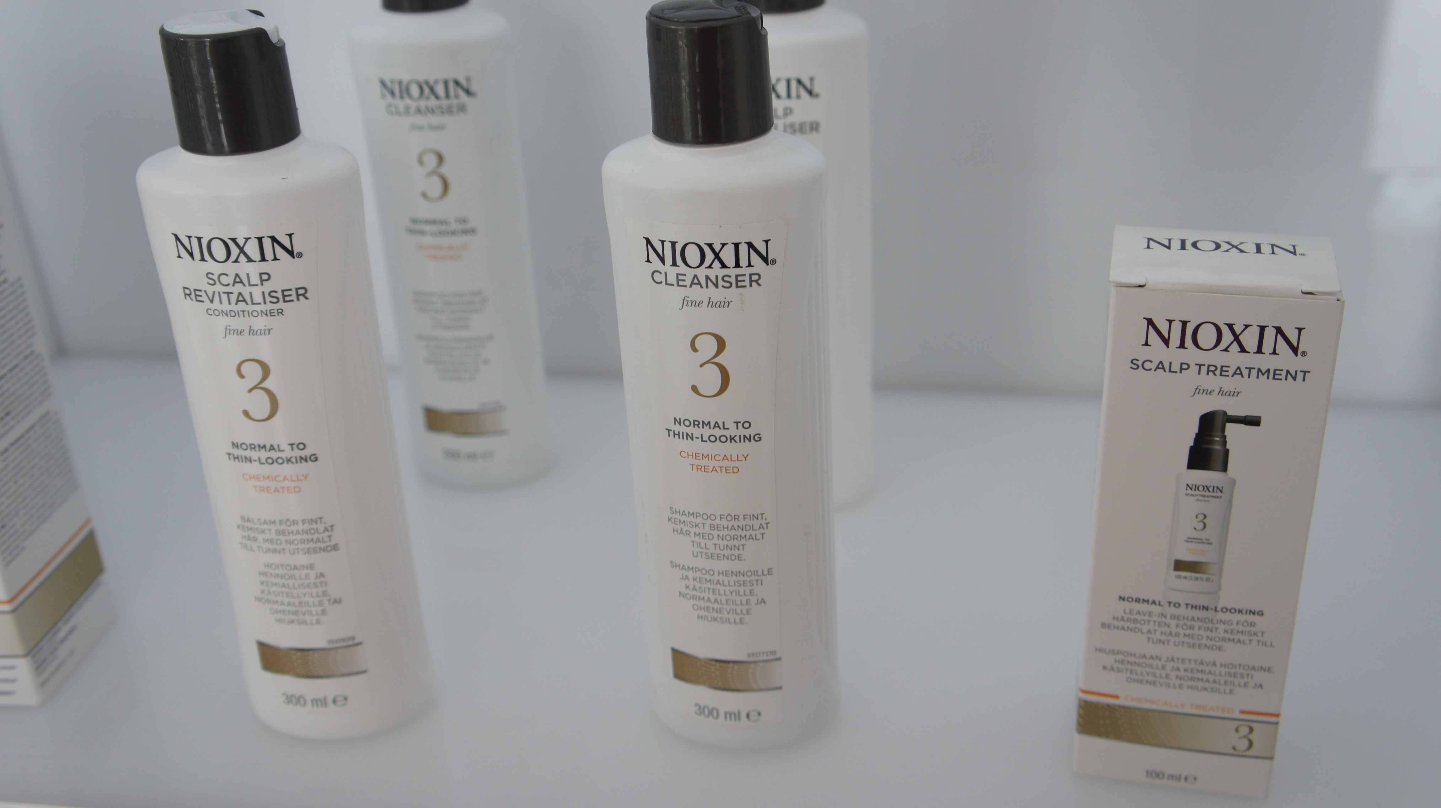 The 3-pronged approach of Nioxin