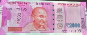 Demonetisation_2000 Note