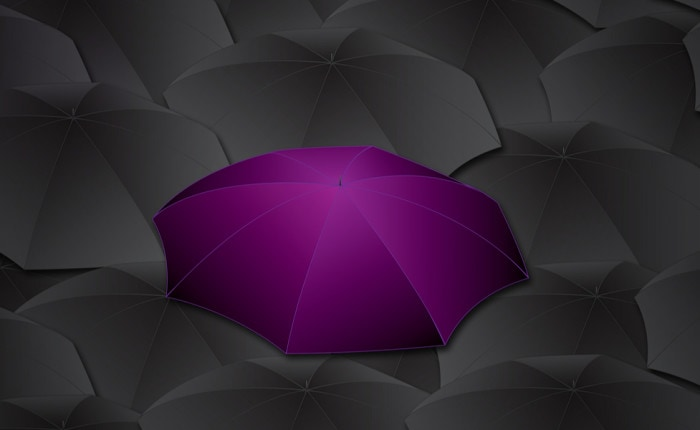 Be my purple umbrella