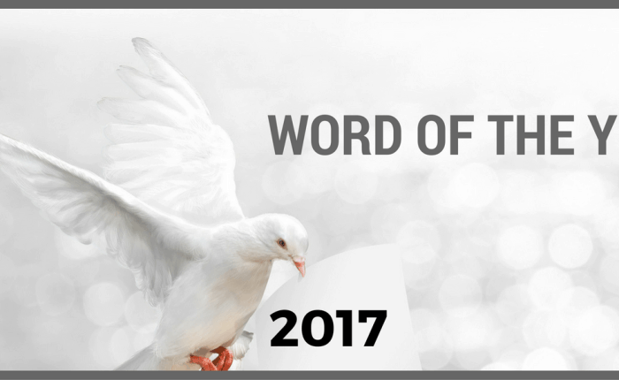 2017: A wish and a word