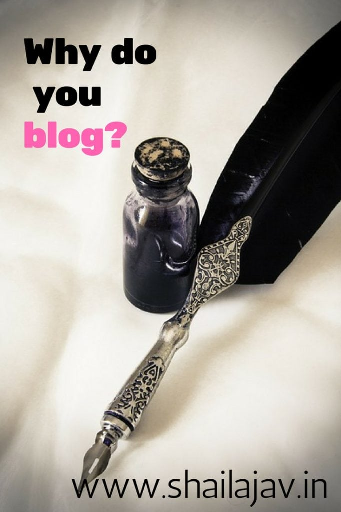 For the love of writing. Isn't that the reason you started to blog? Time to get back to that. Here's my experience. #Blogging #Writing
