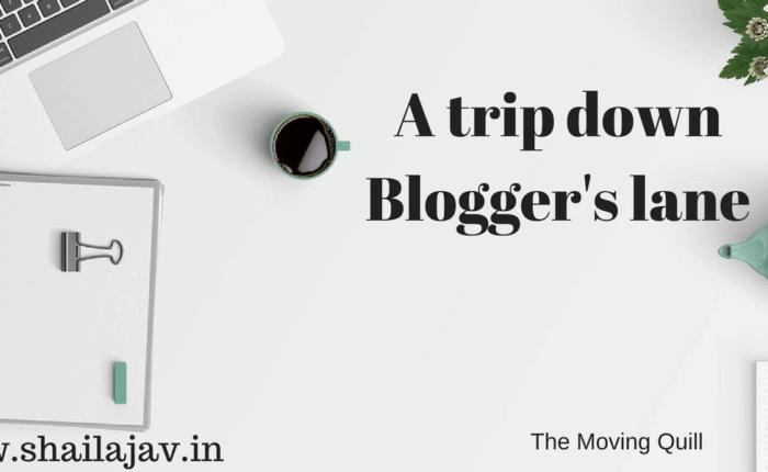 A nostalgic trip down blogger's lane